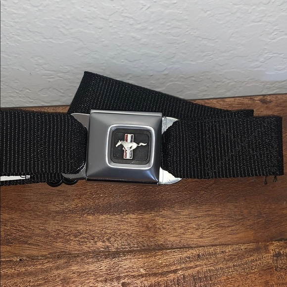 Buckle-Down Seatbelt Buckle Belt